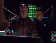 Elim Garak and Julian Bashir, 2371