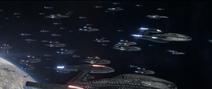 Föderationsflotte im Ghulion-System