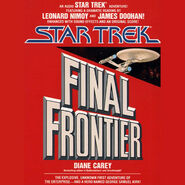 Final Frontier audiobook cover, digital edition