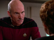 Picard asks Louvois for help