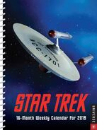 Star Trek Engagement Calendar 2019