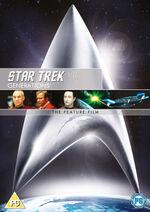Star Trek Generations 2010 DVD cover Region 2