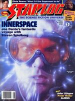Starlog issue 121 cover