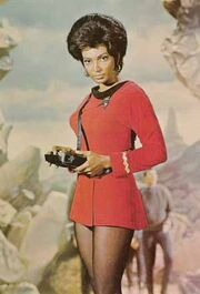 Uhura avec tricordeur