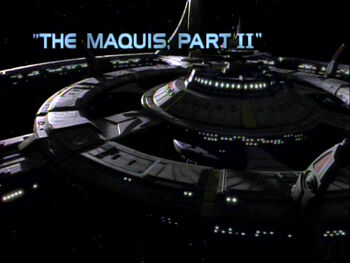 The Maquis, Part II title card
