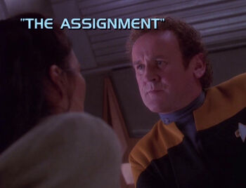 The Assignment title card