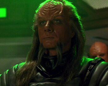 ...as a Klingon general