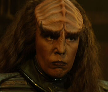 ...as Lursa in <i>Star Trek: Generations</i>