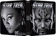 Star Trek 1 disc Blu-ray Region B UK Steelbook cover, variant 2