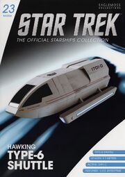 Star Trek Official Starships Collection Shuttle issue 23