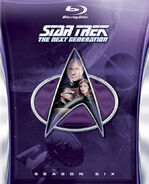 TNG Season 6 Blu-ray cover