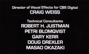 ...and as credited