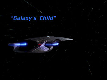 Galaxy's Child title card