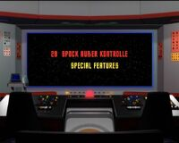 DVD-Menü TOS Staffel 1 Disc 8