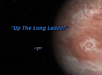 Up The Long Ladder title card
