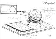 Bajoran gavel sketch