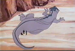 Canopus III dinosaur