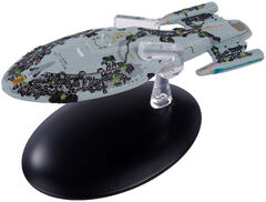 Eaglemoss Assimilated USS Voyager