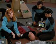 Enterprise-D medical team