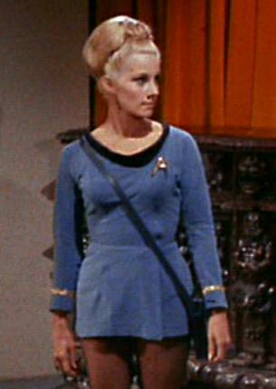 ...as Lt. Karen Tracy.