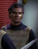 Klingon Kang's crewman 13