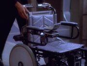 Meloras Rollstuhl