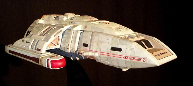 Modell der USS Rio Grande