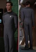 Provisional uniform, ribbed