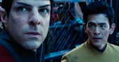 Spock at Krall's base