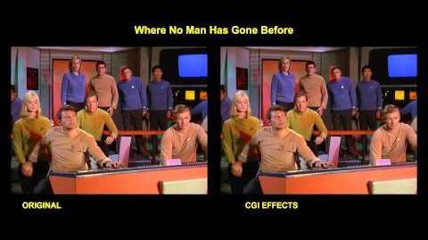 Star Trek - Where No Man Has Gone Before - visual effects comparison