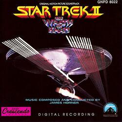 Star Trek II- The Wrath Of Khan Soundtrack Cover