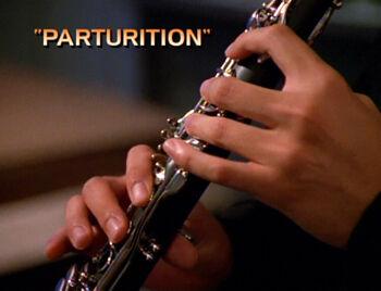 Parturition title card