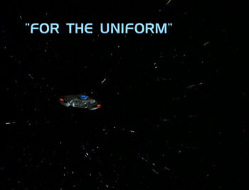 For the Uniform title card