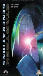 Generations 1998 UK VHS widescreen cover