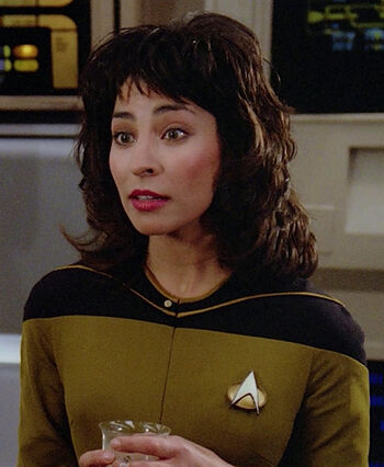 "Ensign Sonya Gomez (<a href=""/wiki/2365"" title=""2365"">2365</a>)"
