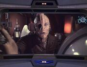 Tash warnt die Voyager