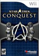 Star Trek Conquest Wii cover