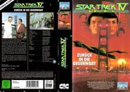 Star Trek IV (Kinofassung - Kauf-VHS Cover-Art)