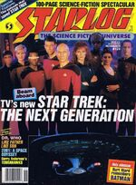 Starlog issue 124 cover