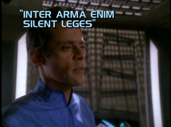 Inter Arma Enim Silent Leges title card