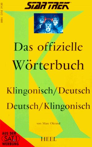 Das offizielle Wörterbuch Klingonisch-Deutsch