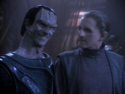 Dukat and Odo Occupation