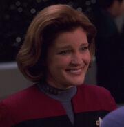 Janeway hologram, 2378