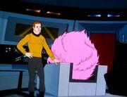 Kirk und der Riesen Tribble