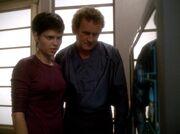 O'Brien und Dax untersuchen den Tod von Miroca Bilby