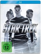 Star Trek 1 disc Blu-ray Region B German 2011 Steelbook cover