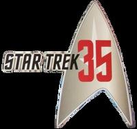 Star Trek 35th anniversary logo