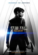 Star Trek Discovery Season 1 Chapter 2 Michael Burnham poster