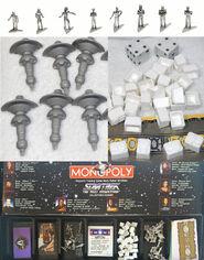 Star Trek TNG Collectors Edition Monopoly tokens