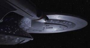 USS Enterprise-D adrift